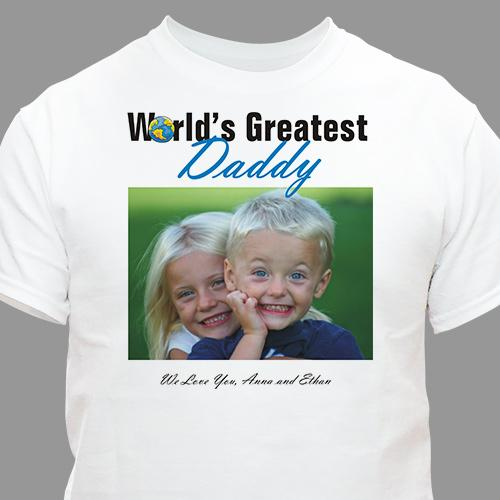 World's Greatest Personalized Photo T-shirt-Personalized Gifts
