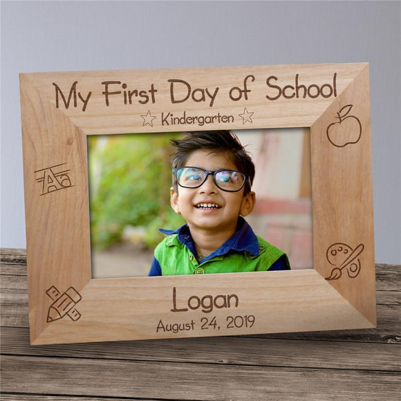 Your first school day Frame-Personalized Gifts