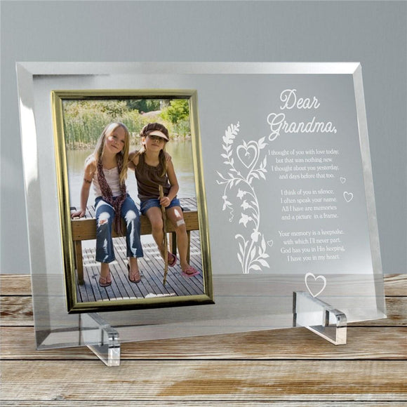 Your Memory is a Keepsake Personalized Memorial Picture Frame-Personalized Gifts