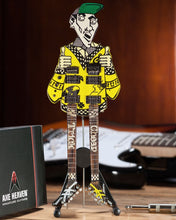 Load image into Gallery viewer, Rick Nielsen(TM) Uncle Dick Double Neck Mini Guitar Replica