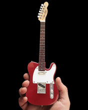 Load image into Gallery viewer, Officially Licensed Mini Candy Apple Red Fender (TM) Telecaster (TM) Guitar Replica