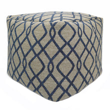 Load image into Gallery viewer, Cube Pouf-Rhinebeck