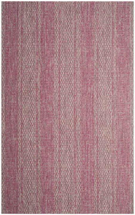Courtyard 8736-39712 Light Grey/Fuchsia