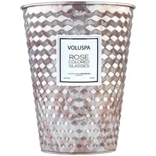 Load image into Gallery viewer, Voluspa Rose Colored Glasses 26 oz