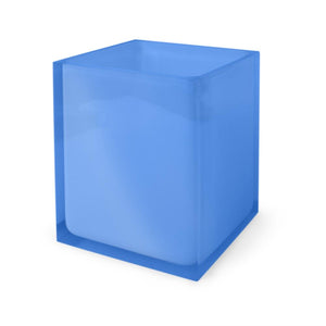 Jonathan Adler Hollywood Wastebasket - Blue