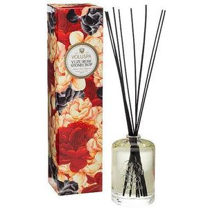 Voluspa Yuzu Rose Stonecrop Diffuser 177 ml