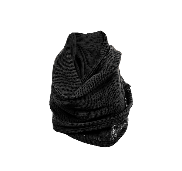 SCARF MAILE BLACK
