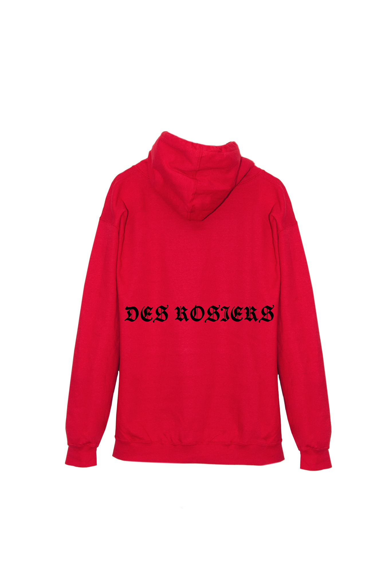 DES ROSIERS GOTH HOOD RED