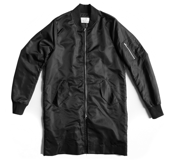 Back order - Long bomber coat