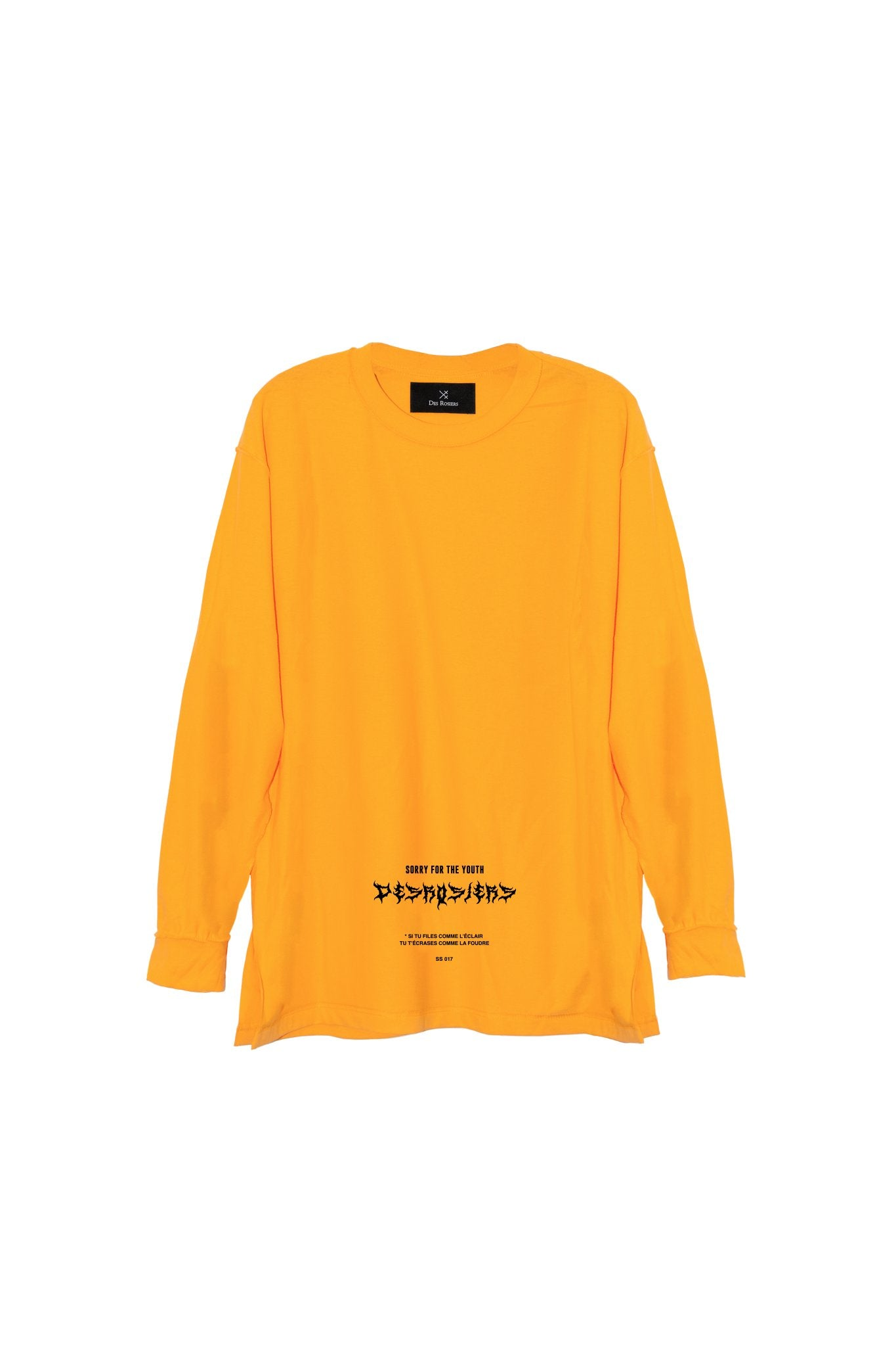 LONG TEE YELLOW SFTH