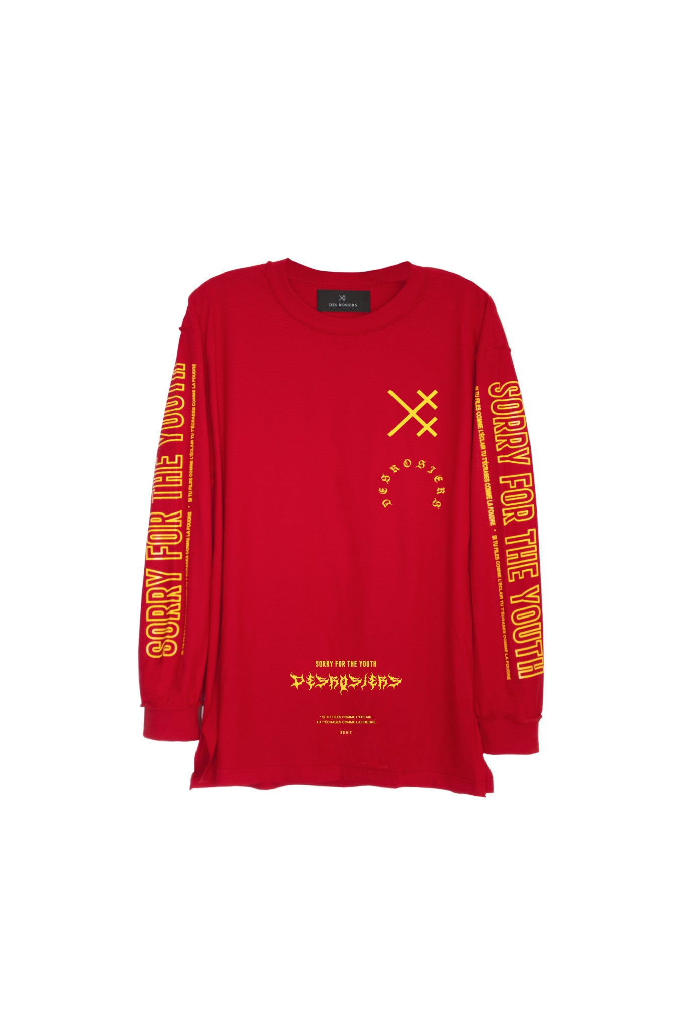 LONG TEE RED SFTH FULL