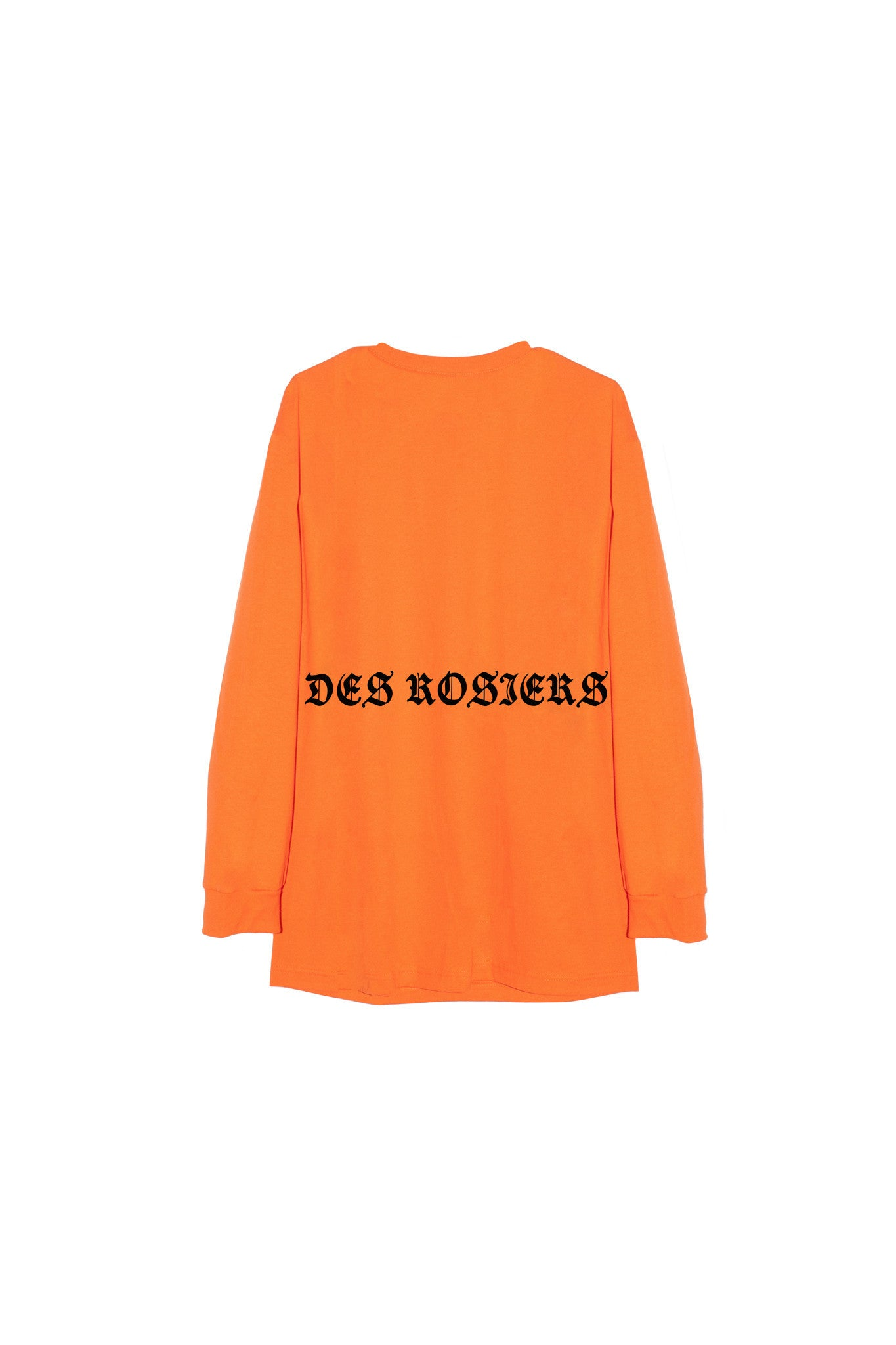 Des Rosiers Goth tee orange