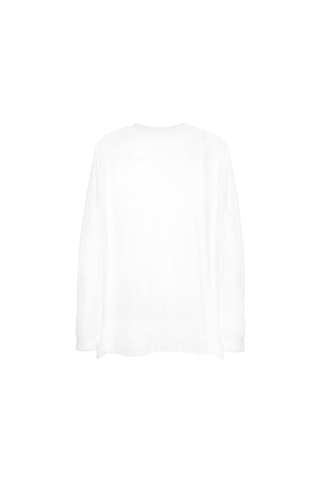 Long tee unconform white