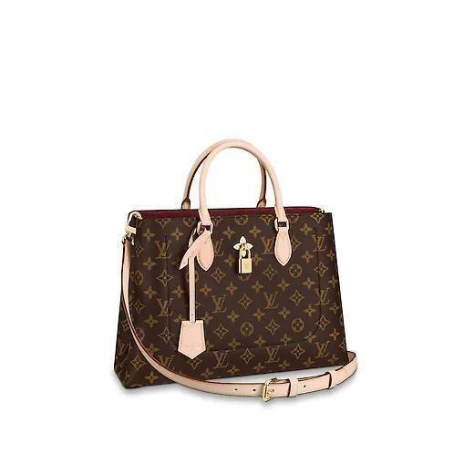 The LV Superior Flower Tote Bag