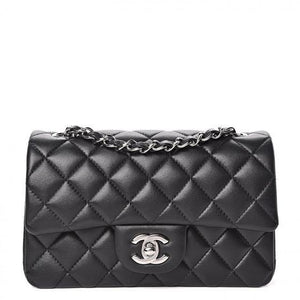 The Chanel Lambskin Quilted Mini Rectangular Flap Bags – Chanel Handbags