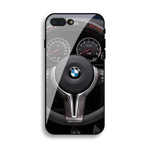 BMW Carbon Fiber Anti-Fall Protective Iphone Cover