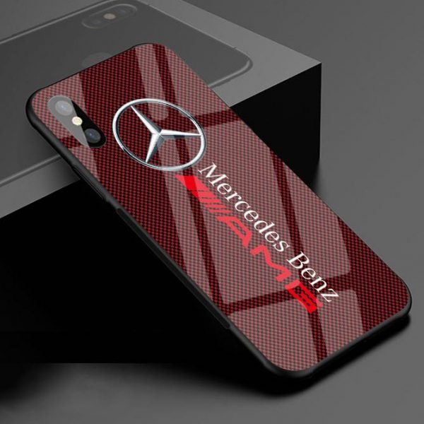 MCD Toughened Glass Anti-Fall Protective Iphone Cover