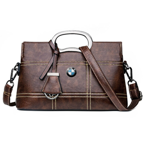 BMW GENUINE LEATHER WOMEN HANDBAG