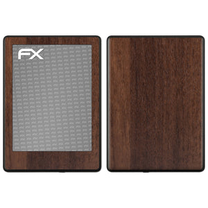atFoliX FX-Wood-Teak Skin für Amazon Kindle 8 (Model 2016)