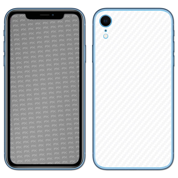 atFoliX FX-Carbon-Alpine Skin für Apple iPhone XR