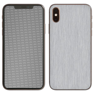 atFoliX FX-Brushed-Alu Skin für Apple iPhone XS (Back cover)