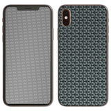atFoliX FX-Honeycomb-Grey Skin für Apple iPhone XS (Back cover)