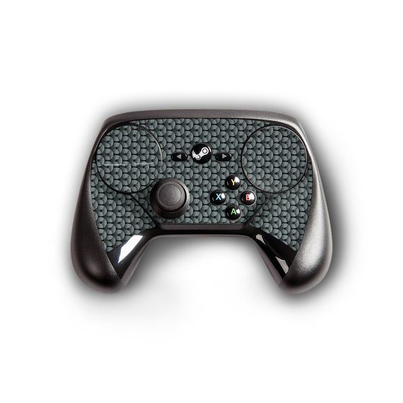 atFoliX FX-Honeycomb-Grey Skin für Steam Controller