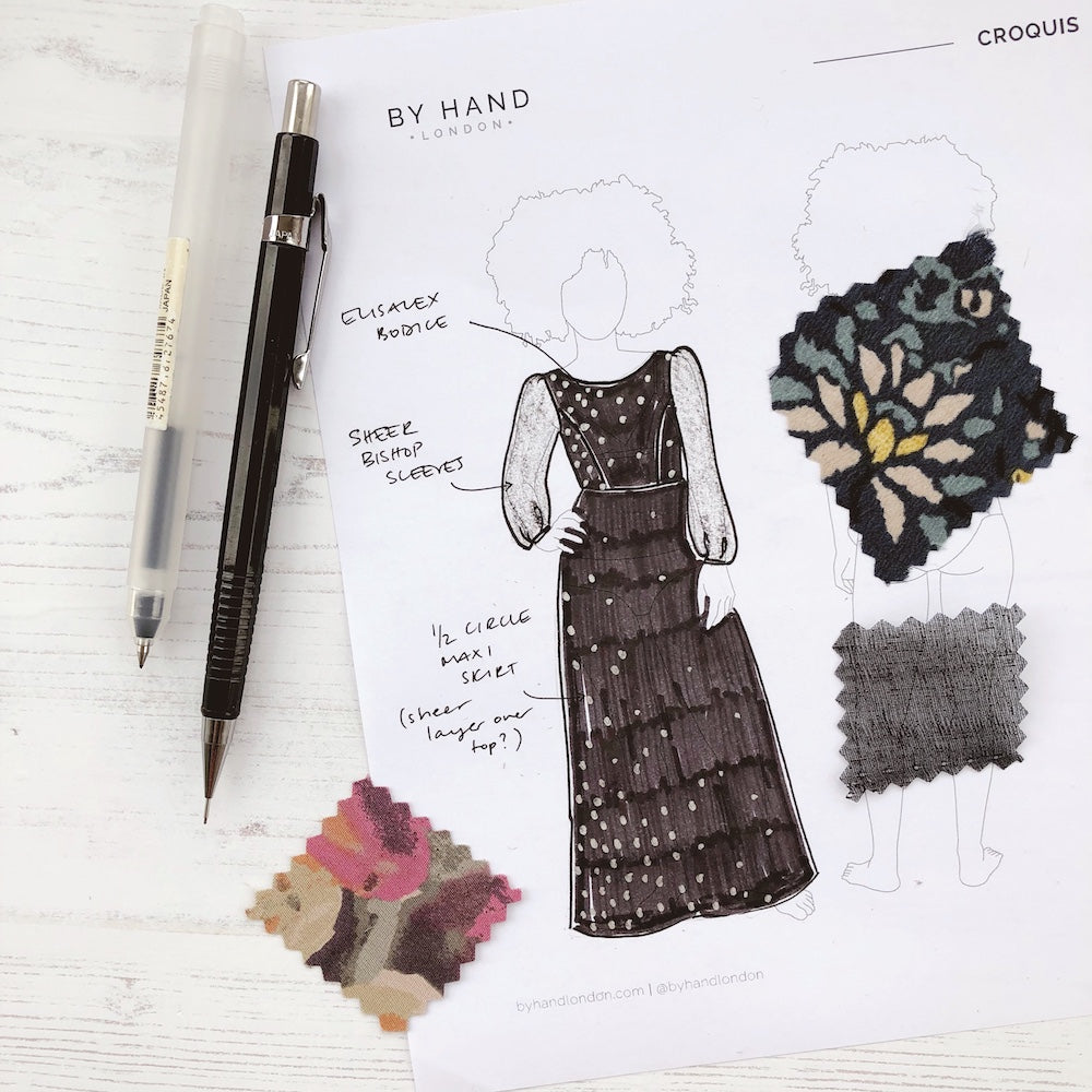 Design your dream dress and win all By Hand London sewing patterns + $200 to spend at The Fabric Store!