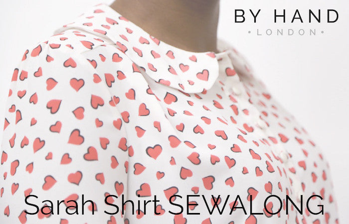 Sarah Shirt Sewalong: Getting inspired & gathering supplies
