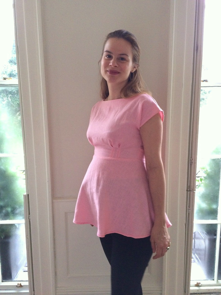 Maternity sewing 1 anna dress sewing pattern easy top hack by anna dress sewing pattern maternity sewing ombrellifo Choice Image