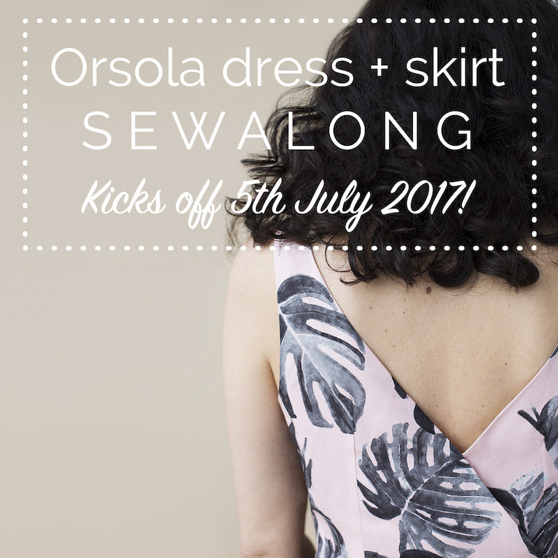 Orsola dress & skirt sewalong coming soon!