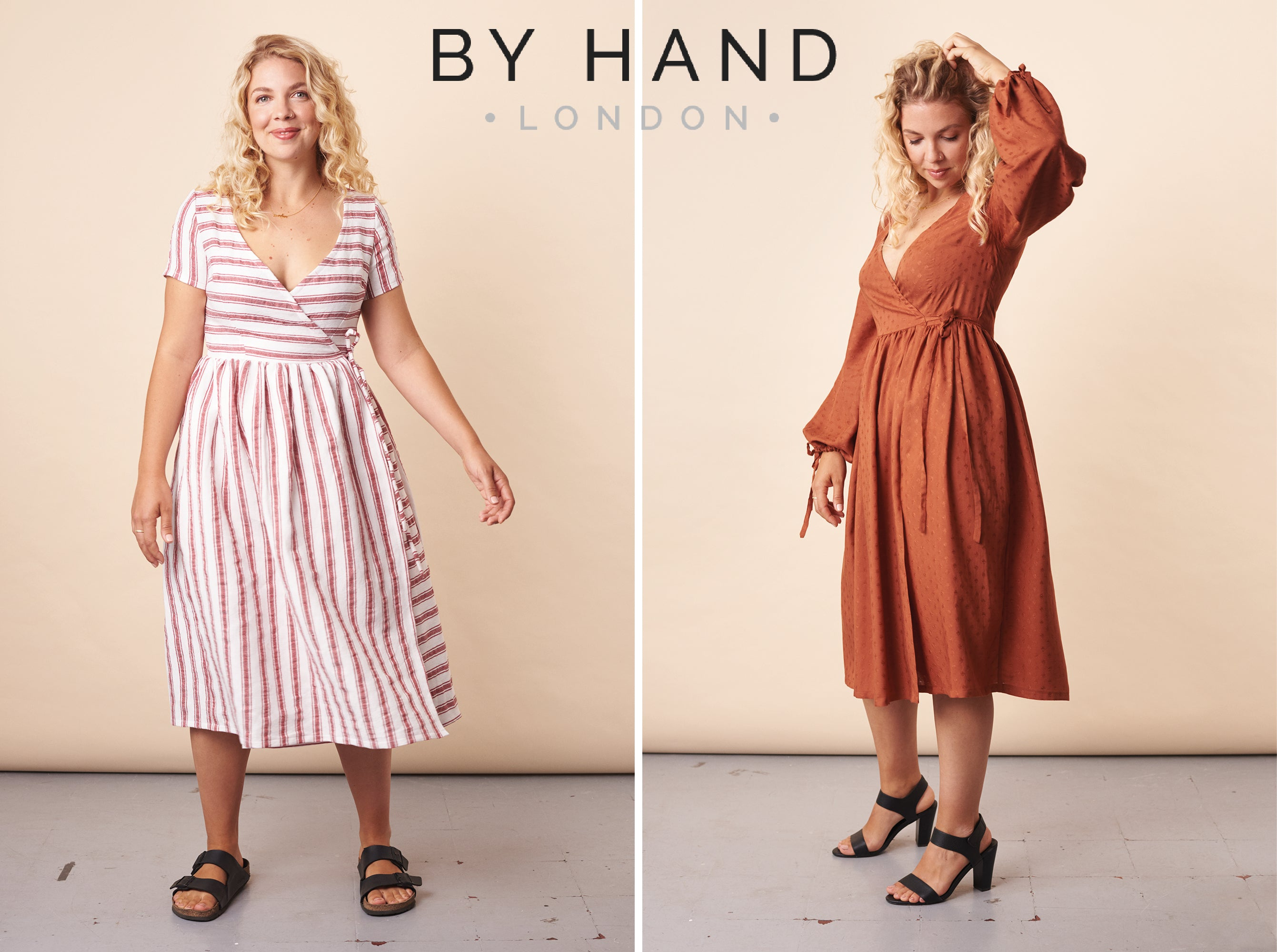 Resources for fitting & sewing your Hannah Wrap Dress
