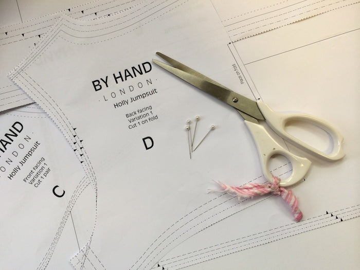 Holly Jumpsuit Sewalong #3: Cutting, marking & stabilising your fabric