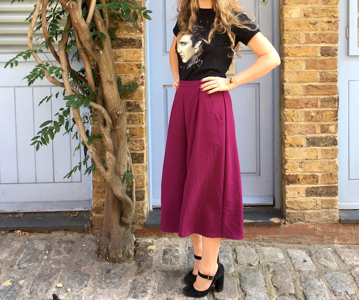 Sewing the trends: How to make a pair of culottes