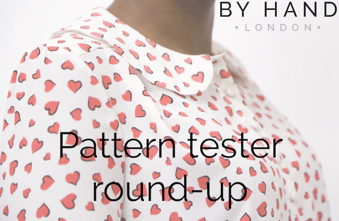 The Sarah Shirt - pattern tester versions!