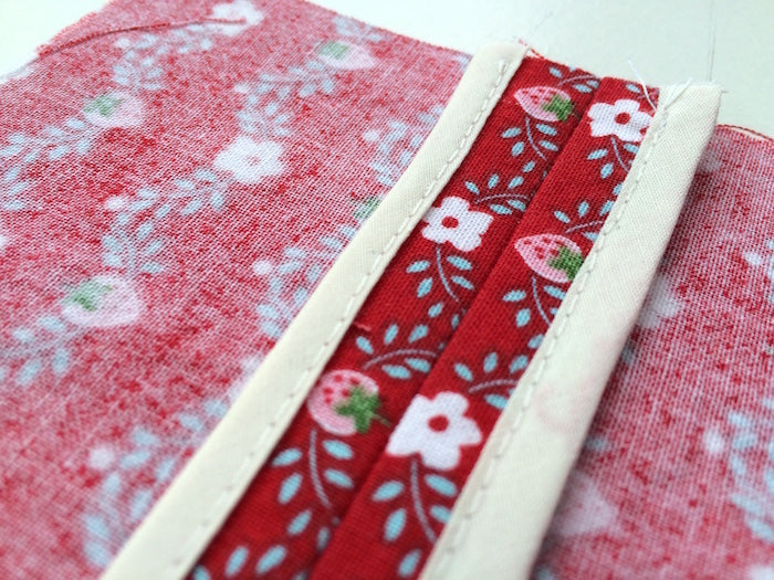 Nerdy Sewing Tips: How to sew a bias bound seam