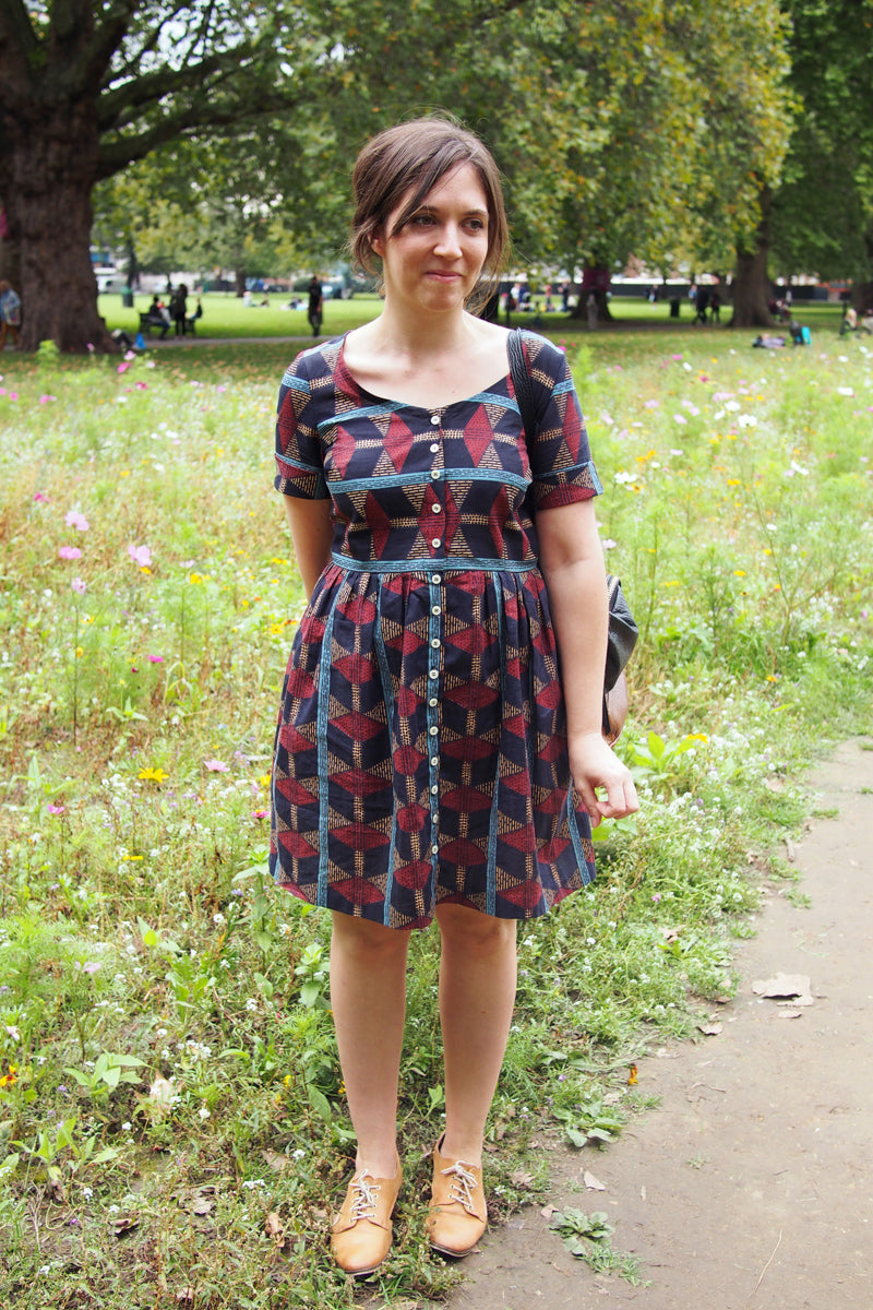 Pattern hacking Holly - a guest post from Katie Marcus