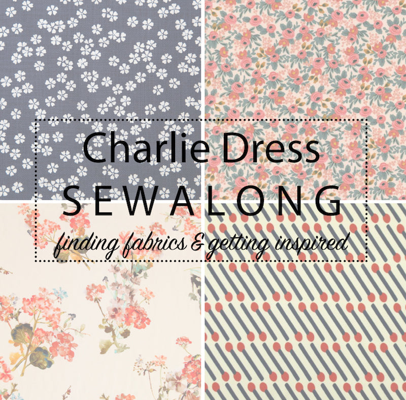 Charlie Dress Sewalong: Getting inspired & gathering supplies