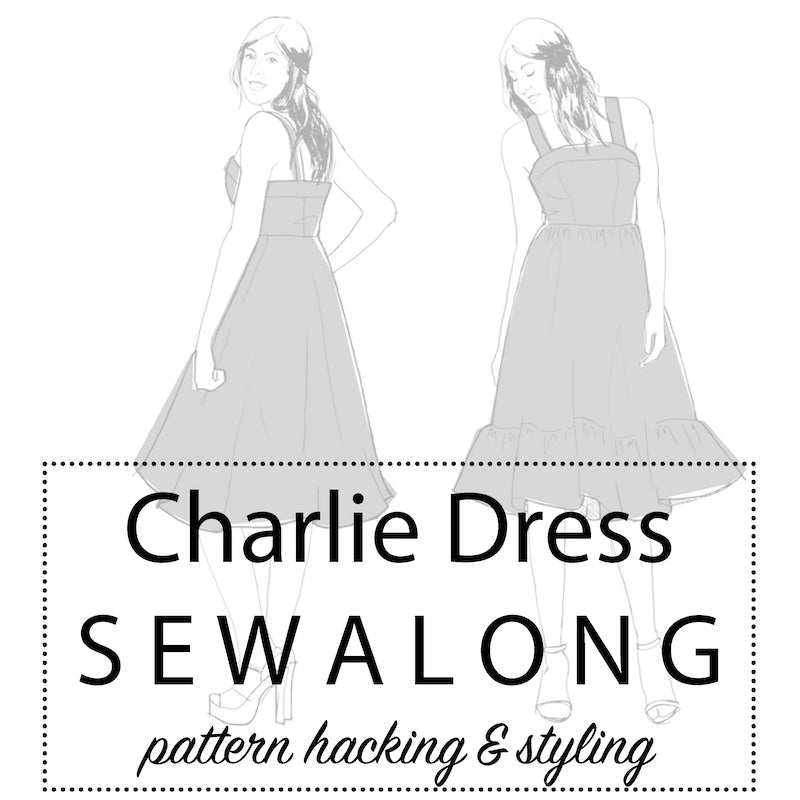 Charlie Dress Sewalong: Pattern hacking & styling it up