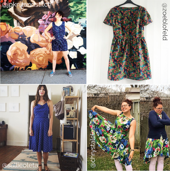 Me-Made-May '15 - Our roundup of your makes!