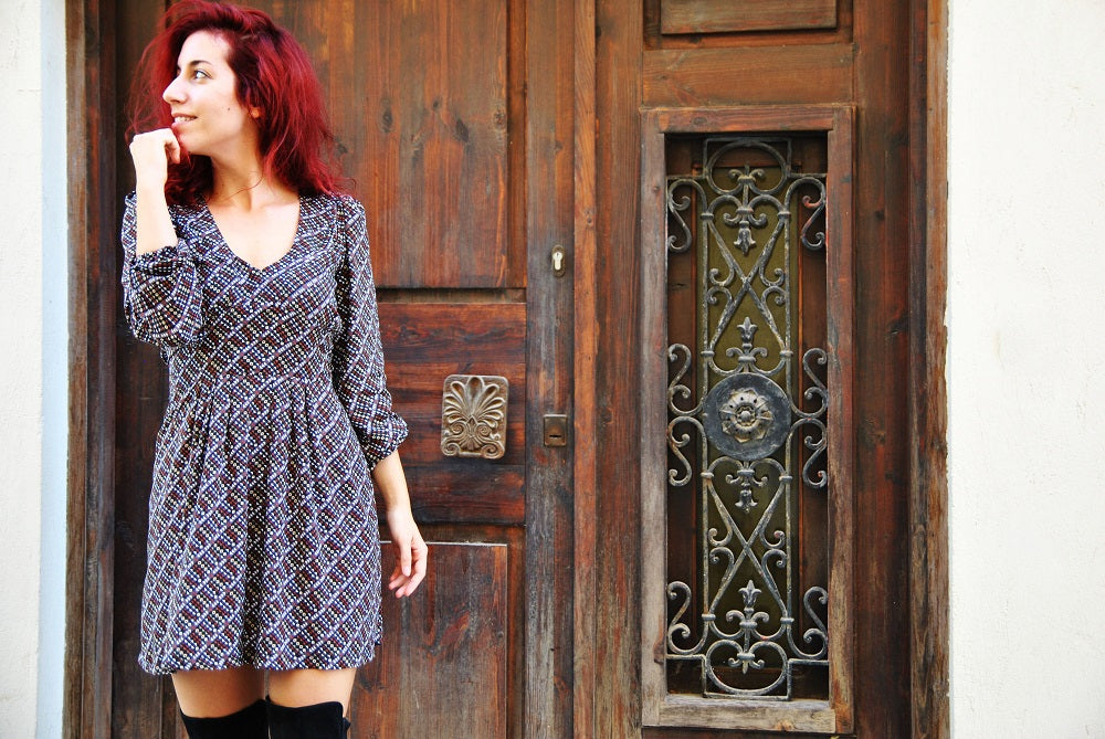 Wardrobe Project sewing blogger - Alix Dress Sewing Pattern - By Hand London