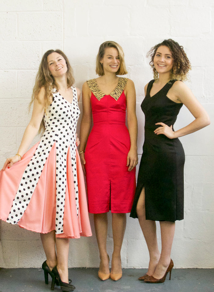 3 girls, 1 pattern: The Sophia Dress