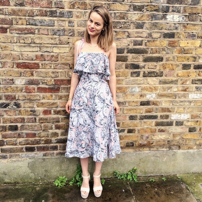 Charlie Dress Sewing Pattern hack from By Hand London
