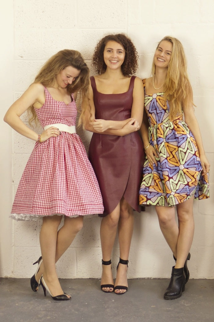3 girls, 1 pattern: The Kim Dress