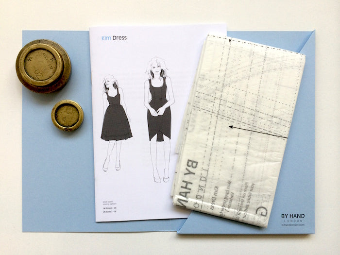 Kim Dress Sewalong #2: Finding your size & tracing the pattern