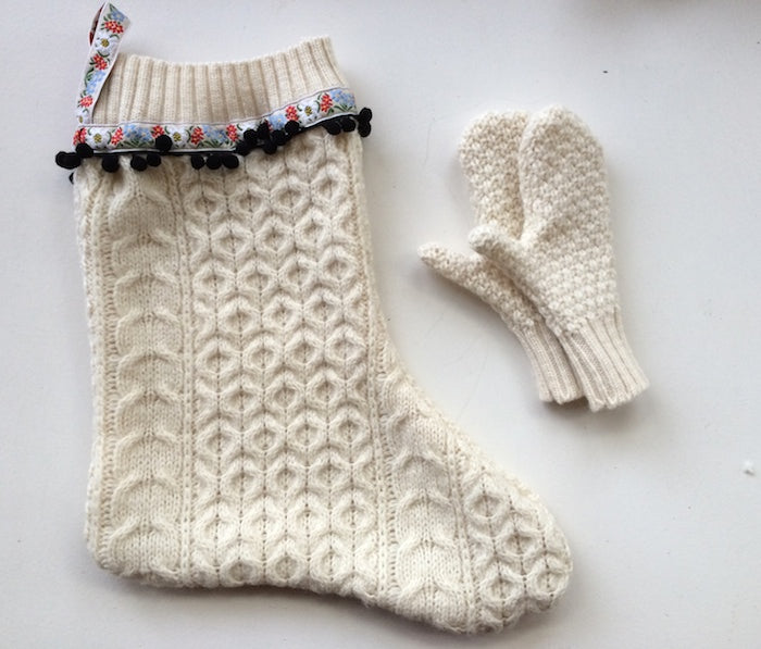 DIY Giftables: Things to make from an old woolly jumper