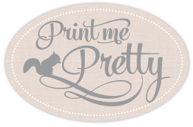 Custom fabric - Print Me Pretty
