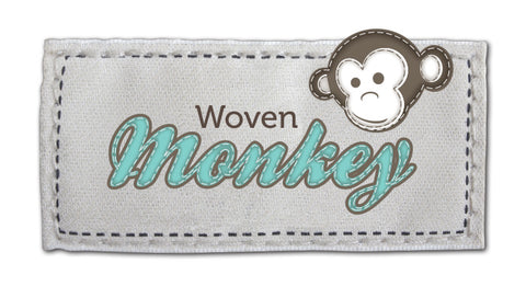 Uk digital fabric printing - woven monkey