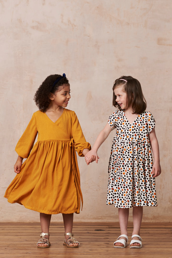 Little Hannah Dress - Printed or PDF sewing pattern