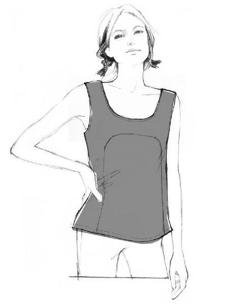 Polly Top - FREE PDF sewing pattern – By Hand London